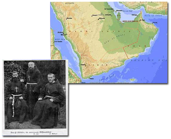 Arabia and Missionaries